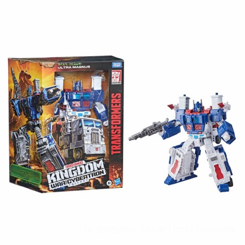 Hasbro Transformers Generations War for Cybertron: Kingdom Leader WFC-K20 Ultra Magnus Action Figure Canada [Sale]