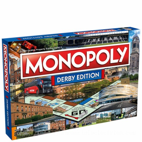 Monopoly Board Game - Derby Edition Canada [Sale]