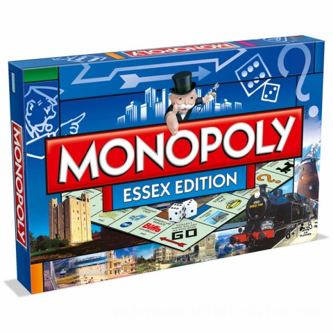 Monopoly Board Game - Essex Edition Canada [Sale]