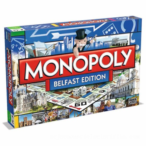 Monopoly Board Game - Belfast Edition Canada [Sale]