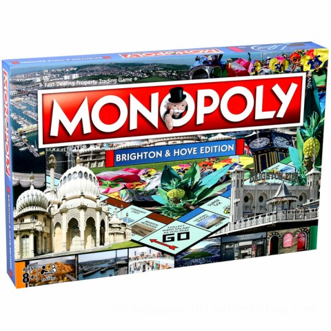 Monopoly Board Game - Brighton Edition Canada [Sale]
