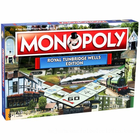 Monopoly Board Game - Tunbridge Wells Edition Canada [Sale]
