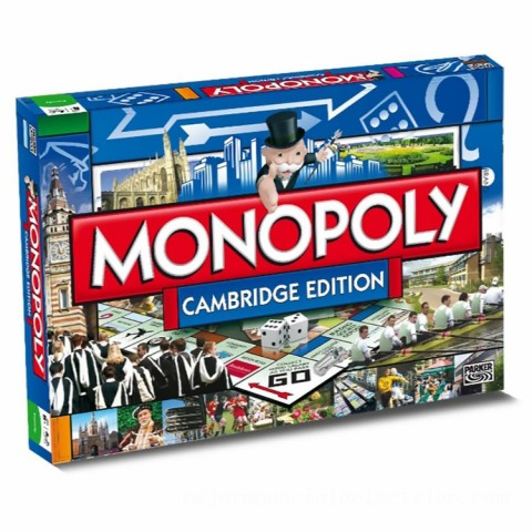 Monopoly Board Game - Cambridge Edition Canada [Sale]