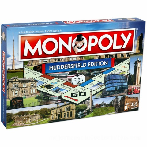 Monopoly Board Game - Huddersfield Edition Canada [Sale]