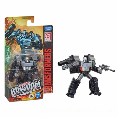 Hasbro Transformers Generations War for Cybertron: Kingdom Core Class WFC-K13 Megatron Action Figure Canada [Sale]