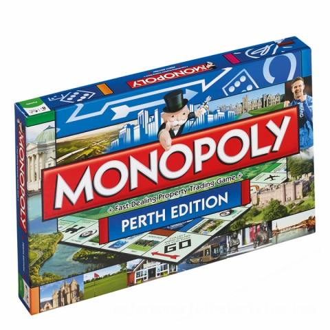 Monopoly Board Game - Perth Edition Canada [Sale]