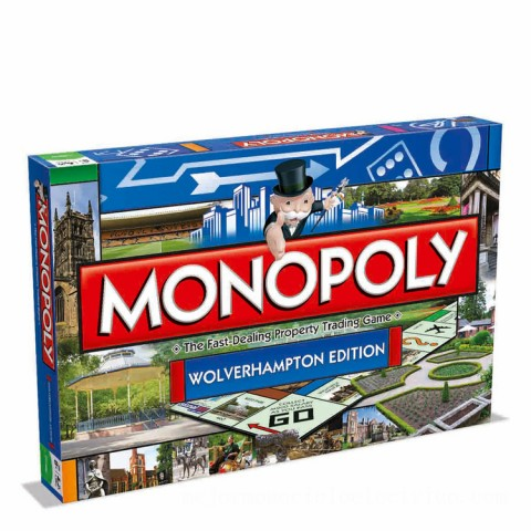 Monopoly Board Game - Wolverhampton Edition Canada [Sale]