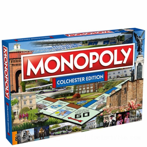 Monopoly Board Game - Colchester Edition Canada [Sale]