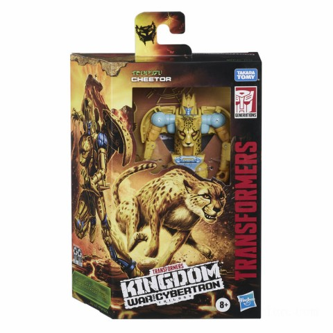 Hasbro Transformers Generations War for Cybertron: Kingdom Deluxe WFC-K4 Cheetor Action Figure Canada [Sale]