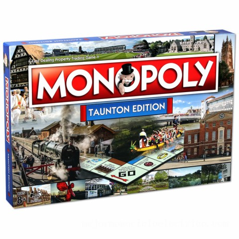 Monopoly Board Game - Taunton Edition Canada [Sale]