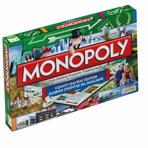 Monopoly Board Game - Galway Edition Canada [Sale]