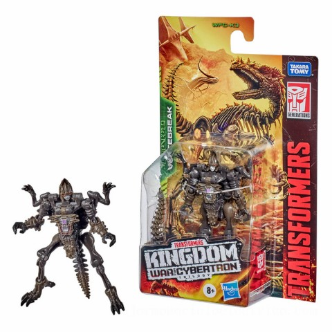 Hasbro Transformers Generations War for Cybertron: Kingdom Core Class WFC-K3 Vertebreak Action Figure Canada [Sale]