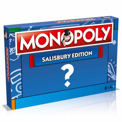 Monopoly Board Game - Salisbury Edition Canada [Sale]