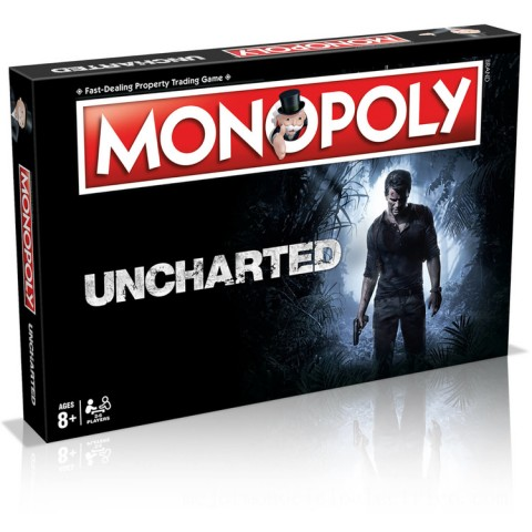 Monopoly Board Game - Uncharted Edition Canada [Sale]