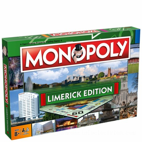 Monopoly Board Game - Limerick Edition Canada [Sale]