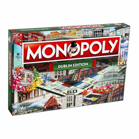 Monopoly Board Game - Dublin Edition Canada [Sale]