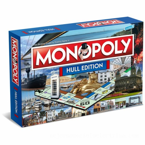 Monopoly Board Game - Hull Edition Canada [Sale]