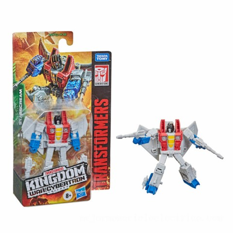 Hasbro Transformers Generations War for Cybertron: Kingdom Core Class WFC-K12 Starscream Action Figure Canada [Sale]