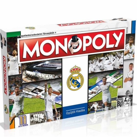 Monopoly Board Game - Real Madrid Edition Canada [Sale]