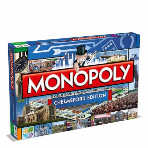 Monopoly Board Game - Chelmsford Edition Canada [Sale]