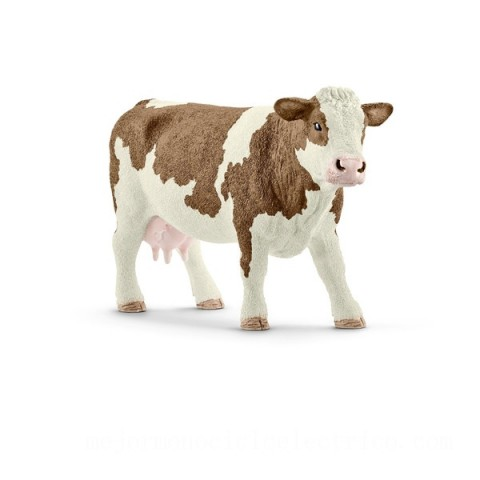 Schleich Simmental Cow Figure Toys Canada 2021 [Sale]