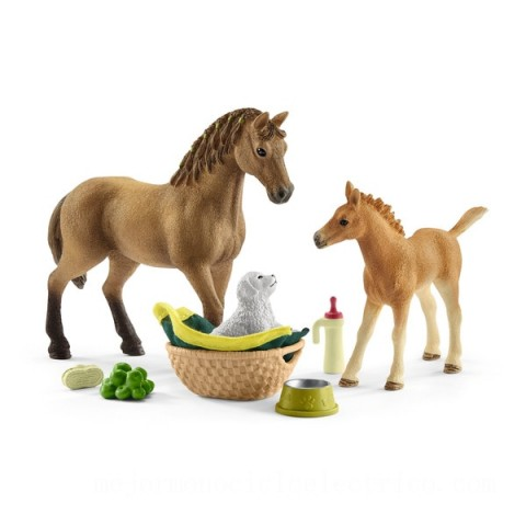 Schleich Horse Club Sarah's Baby animal care Toys Canada 2021 [Sale]
