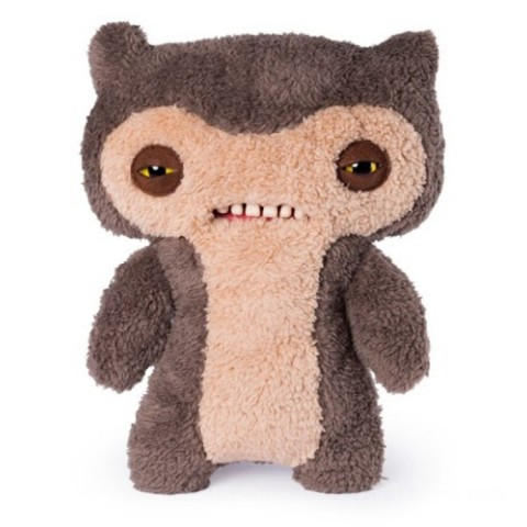 Fuggler 30cm Funny Ugly Monster - Scuffy Fox Monster Brown Canada [Sale]