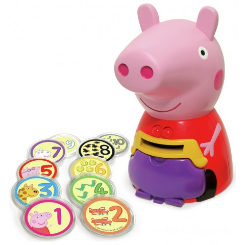 Peppa Pig Count with Peppa Toys Canada [Sale]