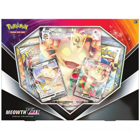 Pokémon Trading Card Game: Meowth VMAX Special Collection Canada [Sale]