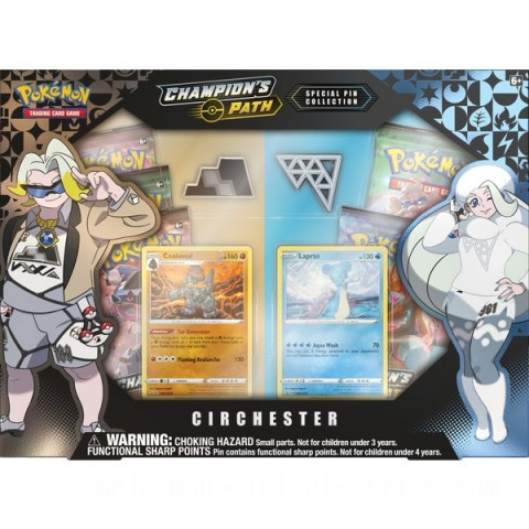 Pokémon Trading Card Game Champion's Path Special Pin Collection Assortment Canada [Sale]
