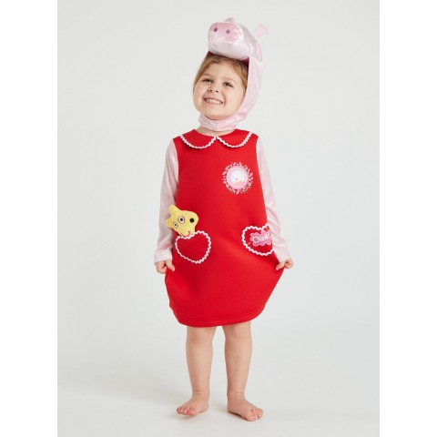 Peppa Pig Red Costume - 2-3 years Toys Canada [Sale]