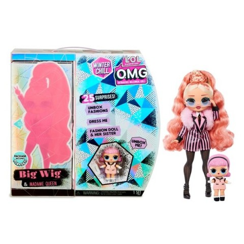 L.O.L. Surprise! O.M.G. Winter Chill Big Wig & Madame Queen Doll with 25 Surprises [ Sale ] [ Black Friday ]