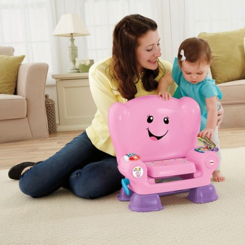 Fisher-Price Laugh & Learn Smart Stage Pink Activity Chair Canada [Sale]