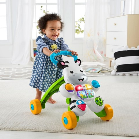 Fisher-Price Learn with Me Zebra Walker Baby Walker Canada [Sale]