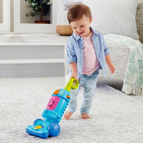 Fisher-Price Laugh and Learn Light-up Learning Vacuum Canada [Sale]