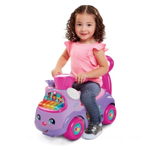 Fisher-Price Little People Music Parade Purple Ride-on Canada [Sale]