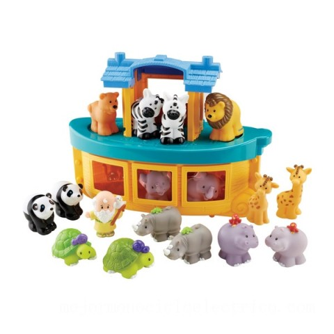 Fisher-Price Little People Noah's Ark Gift Set Canada [Sale]