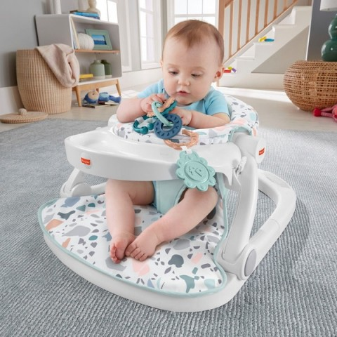 Fisher-Price Terrazzo Sit Me Up Floor Seat Canada [Sale]
