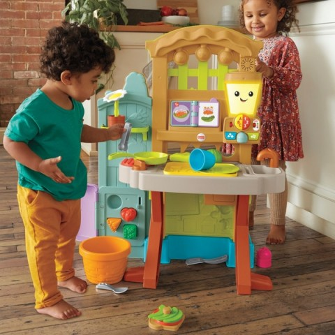 Fisher-Price Grow-The-Fun Garden to Kitchen Canada [Sale]