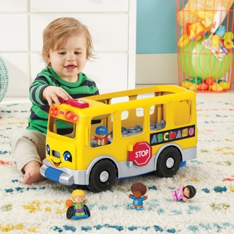 Fisher-Price Little People Big Yellow School Bus Canada [Sale]