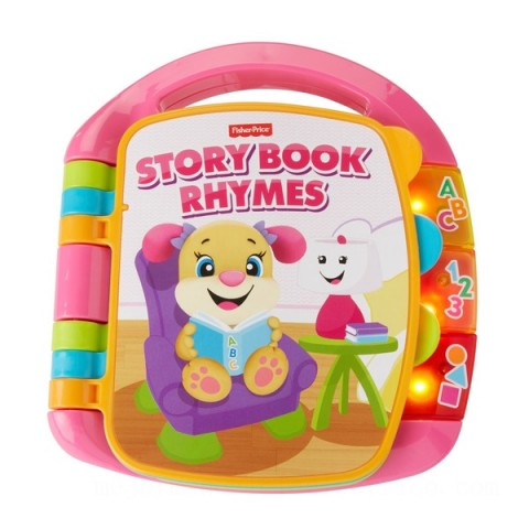 Fisher-Price Laugh & Learn Storybook Rhymes Canada [Sale]