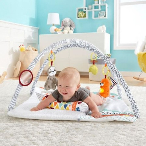 Fisher-Price Perfect Sense Deluxe Gym Baby Play Mat Canada [Sale]