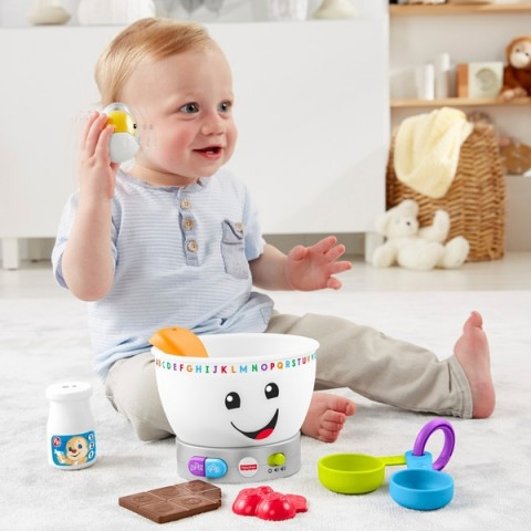 Fisher-Price Laugh & Learn Magic Colour Mixing Bowl Canada [Sale]