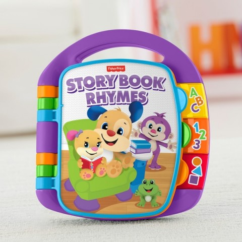 Fisher-Price Laugh & Learn Storybook Rhymes Activity Toy Canada [Sale]