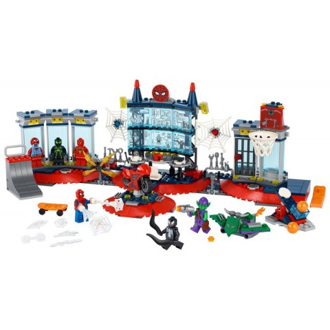 Lego Marvel Attack On The Spider Lair [ Black Friday ]